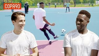 Cage Football Challenge vs Danny Welbeck! | Timbsy vs the World Tango League Special
