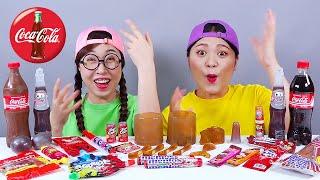 Edible Coke Bottle Coke Cola Kyoho DONA Mukbang