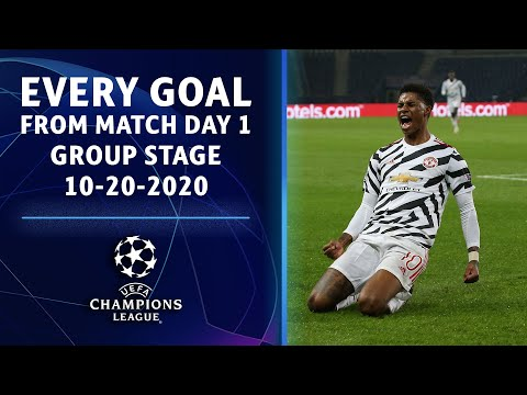 EVERY GOAL from Match Day 1 of the Group Stage  | Champions League | UCL on CBS