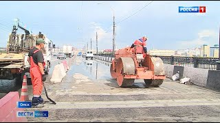 Работы по замене деформационных швов на Ленинградском мосту завершены раньше срока