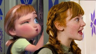 Do You Want To Build a Snowman - Frozen In Real Life - REMASTERED