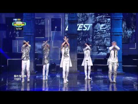 [PERF/HD] 120717 NU'EST - Not Over You & Action @ MBC Show Champion