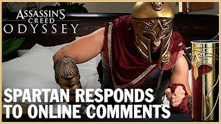 Assassin's Creed Odyssey: Spartan Responds to Online Comments  | Ubisoft [NA]
