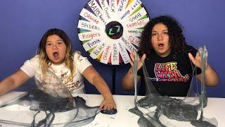 Mystery Wheel of Slime Challenge Challenge Halloween Edition