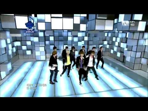 [HD] 110811 Super Junior Mnet - Superman + Mr. Simple + Winner
