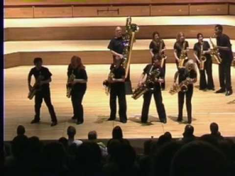 Bohemian Rhapsody - National Saxophone Choir