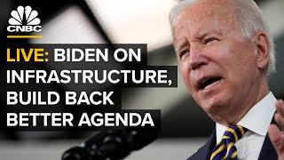 LIVE: President Biden delivers remarks on his bipartisan infrastructure bill – 10/20/2021