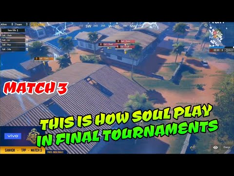 This is how Soul play in Final Tournaments, PMCO India finals day 1 match 3 Highlights