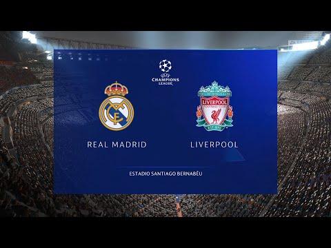 UCL 8강 1차전 레알 VS 리버풀 FIFA21(PS5) 미리보기