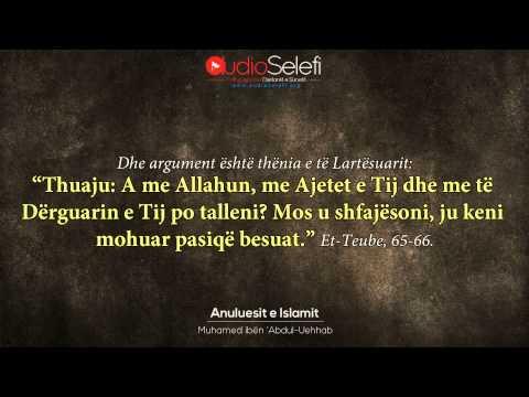 10 Anuluesit e Islamit - Shejkhul Islam Muhamed ibën 'Abdul-Uehhab