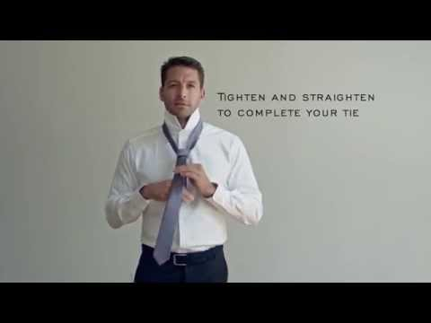 How to Tie a Four-In-Hand Tie