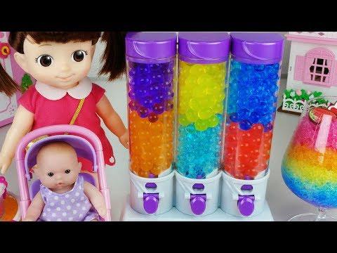Baby Doll and Orbeez food maker toys pororo cake play 아기인형 오르비즈 케이크 메이커 뽀로로 장난감놀이 - 토이몽