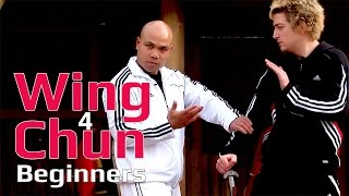 Wing Chun for beginners lesson 30: basic hand exercise/ blocking a round kick and grabbing the leg