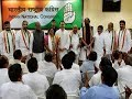 Group politics in Congress over Nagam's entry