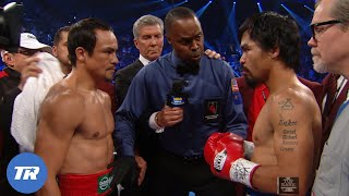 Manny Pacquiao vs. Juan Manuel Marquez 4 | Jose Ramirez's Hispanic Heritage Month Free Fight