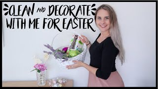 CLEAN AND DECORATE WITH ME FOR EASTER 2019 🐣🏠🐰| Tiana-Rose