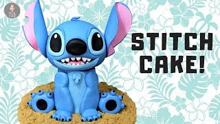 Lilo And Stitch Cake Tutorial! | Disney Cakes