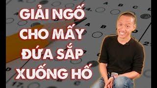 Cách giải tỏa áp lực trước khi thi | Nguyễn Hữu Trí