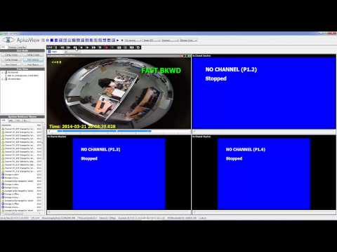 APV7000 - Playback the concurrent channel