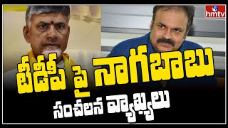 Naga Babu controversial comments on TDP..