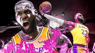 LeBron James - Best Dunks as a Laker - 2019 Highlights