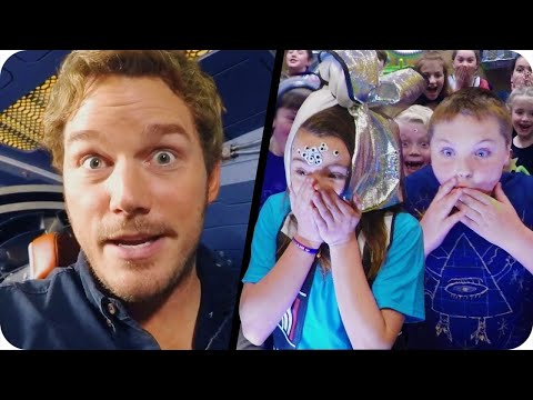 Chris Pratt Surprises Kids from the Set of Guardians of the Galaxy Vol. 2 // Omaze
