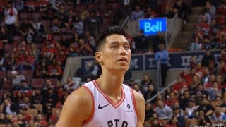 Jeremy Lin's first playoff minutes in 3 years - Magic at Raptors 4/16/19