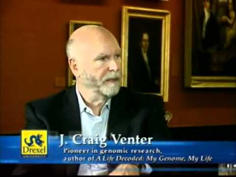 episode 59 - J. Craig Venter - part 01 - YouTube