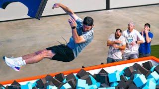 Giant Foam Pit | Dude Perfect