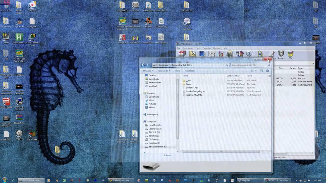Acekard 2 instalation - YouTube