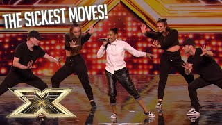 Auditions with UNBELIEVABLE choreography!   The X Factor UK