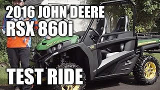 2016 John Deere Gator RSX 860i