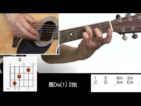 吉他入門免費教學14: 和弦練習 帕海貝爾 卡農