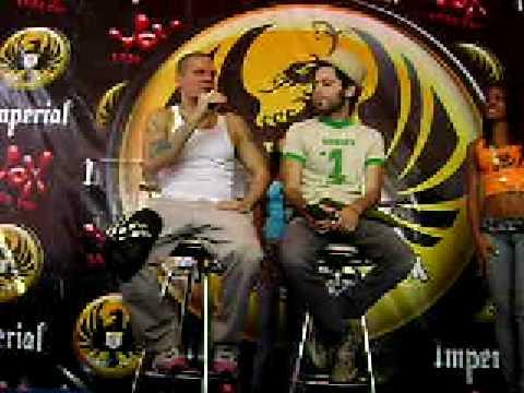 Calle 13 en Costa Rica-Conf de Prensa.