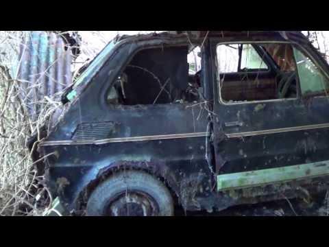 Fiat 126 Black Editions.Kolejny znaleziony w szopie.