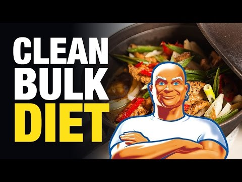 Bulking Up? – Follow the Clean Muscle Gain Diet