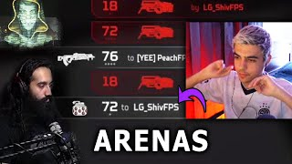 TSM ImperialHal's team vs ShivFPS's team in the Arena (Apex Legends)