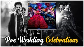 Watch: Nithin and Shalini pre-wedding photoshoot moments..
