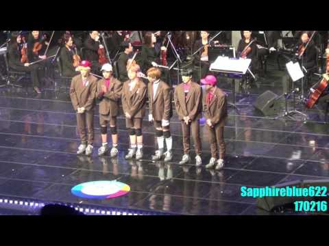 [FANCAM]NCT DREAM 170216  The 4th EDAILY Culture Awards
