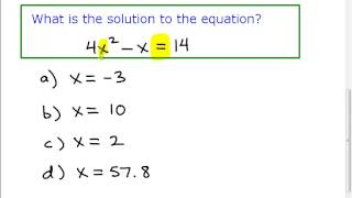 GED Exam Math Tip YOU NEED TO KNOW