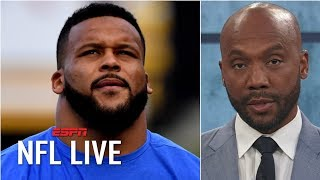 Aaron Donald has transcended the defensive tackle position – Louis Riddick | NFL Live
