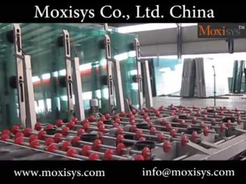 cnc glass cutting line - insulating glass machine