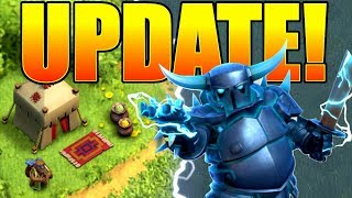 ALL NEW UPDATE FEATURES!! - Clash Of Clans - UPGRADE TIME!