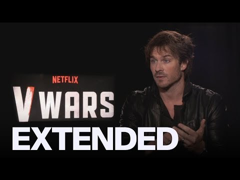 Ian Somerhalder Talks Differences Between 'The Vampire Diaries' And 'V Wars'  | EXTENDED
