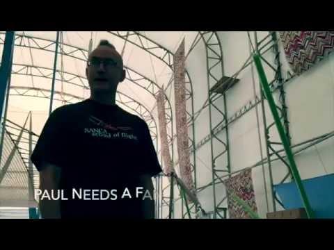 Paul is very hot. The SANCA School of Flight needs a fan.