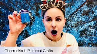 Chrismukkah Pinterest Crafts