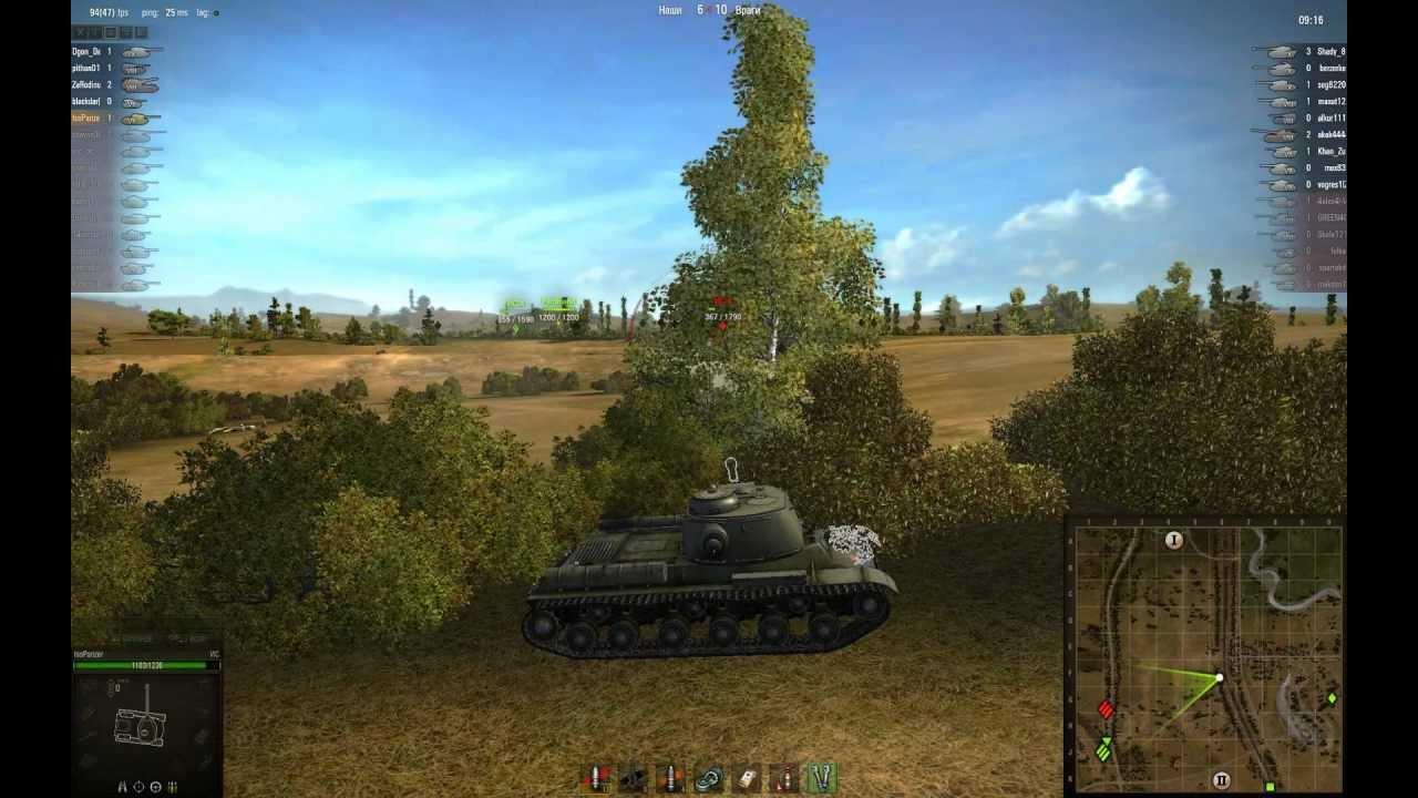 Серия в честь Дня Победы - часть IX - ИС-2