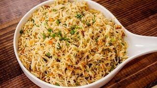 २ मिनट वाली वेज फ्राइड राइस - 2 Min Veg Fried Rice Street Style Recipe - CookingShooking