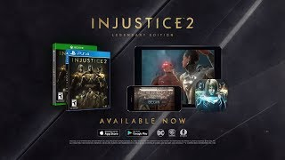 Injustice 2 - Legendary Edition Bejelentés Trailer