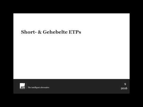 Webinar Reihe mit ETF Securities  Die Welt der Exchange Traded Products ETPs - Teil 1